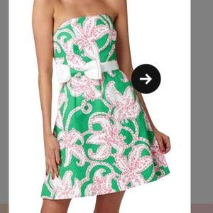 Lilly Pulitzer amberly strapless dress